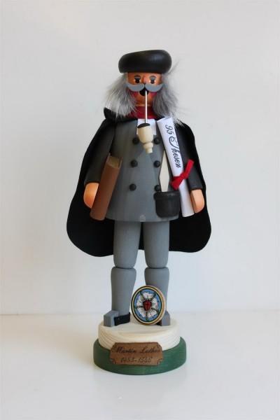 """Räuchermännchen Martin Luther von Karl Werner aus Sayda/ ErzgebirgeDas Räuchermännchen Martin Luther stammt aus der Herstellungsserie """"Bekannte sächsische …"""