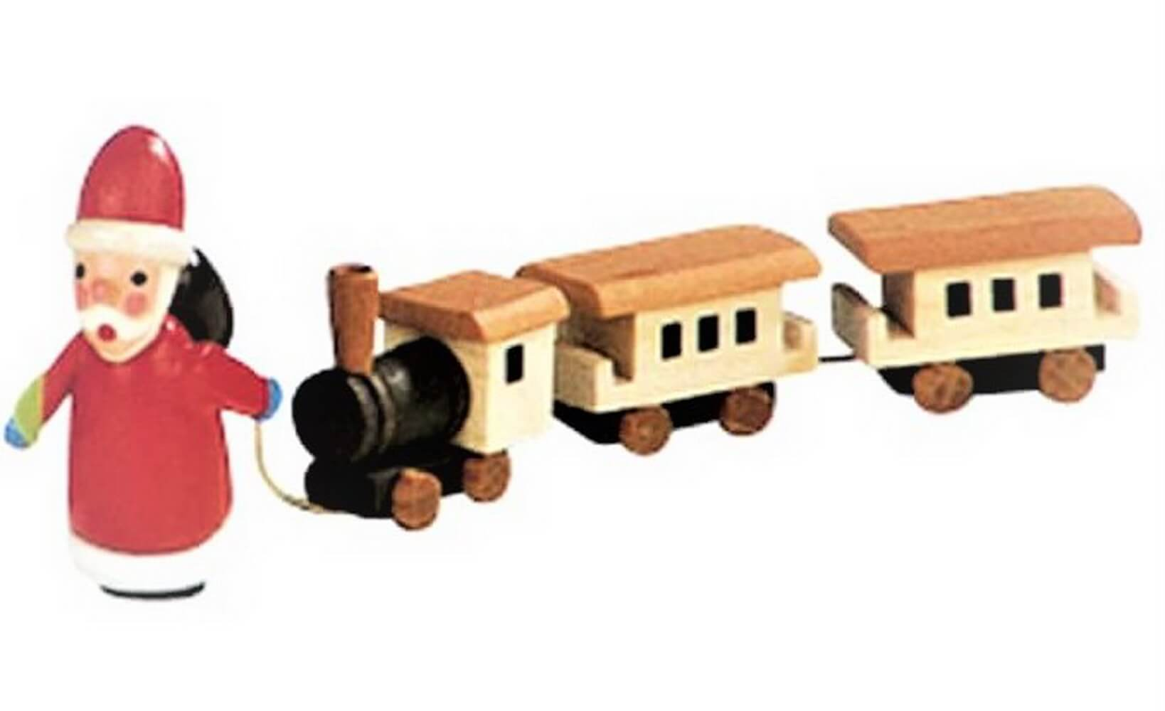 Knuth Neuber, Weihnachtsmann mit Eisenbahn