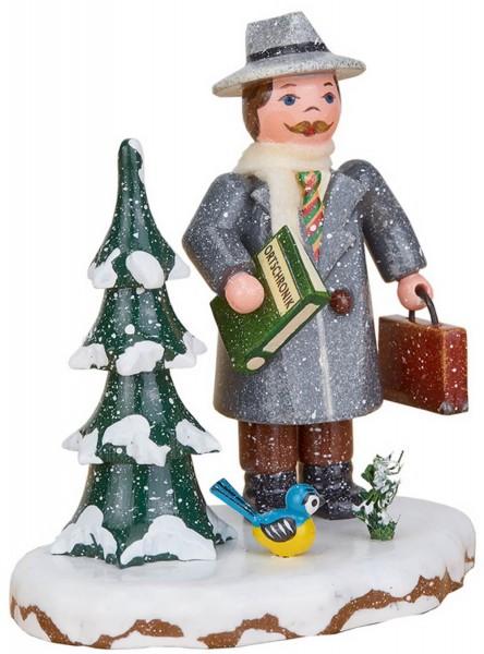 Winterkind von Hubrig Volkskunst Bürgermeister, 8 cm