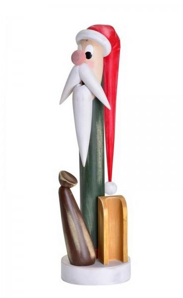 Räuchermännchen Shabby Chic Weihnachtswichtel, 40 cm von KWO Kunstgewerbe-Werkstätten Olbernhau/ Erzgebirge