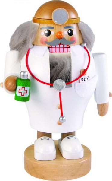 Nussknacker Arzt, 16 cm, Richard Glässer GmbH Seiffen/ Erzgebirge