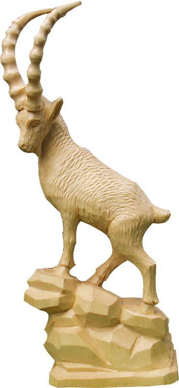 Steinbock, geschnitzt, 25 cm von Schnitzkunst aus dem Erzgebirge_Bild2