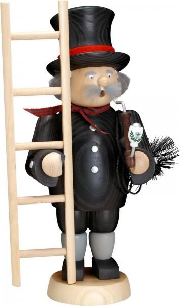 Der Räuchermann Schornsteinfeger, 31 cm von Seiffener Volkskunst eG Seiffen/ Erzgebirge, bringt Glück in Ihr Zuhause. Ein Kuss oder eine Umarmung solle das …
