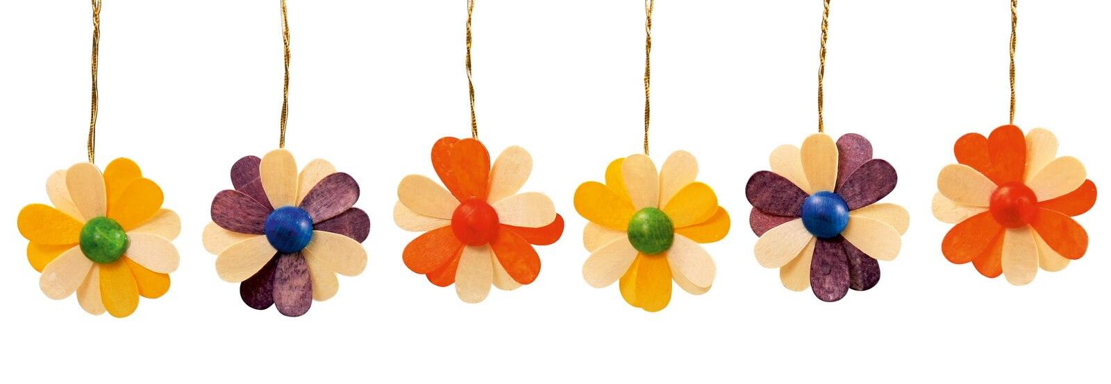 Frühlingsdeko Blüten, 6-teilig, 2-farbig von Thomas Preißler