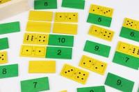 Vorschau: Mit dem Zahlenmerkfix spielerisch Mathematik lernen. Dazu ist dieses Spiel sehr gut geeignet. Ein Rechen-Memo im Zahlenraum bis 12! Zu 21 Augenblättchen …