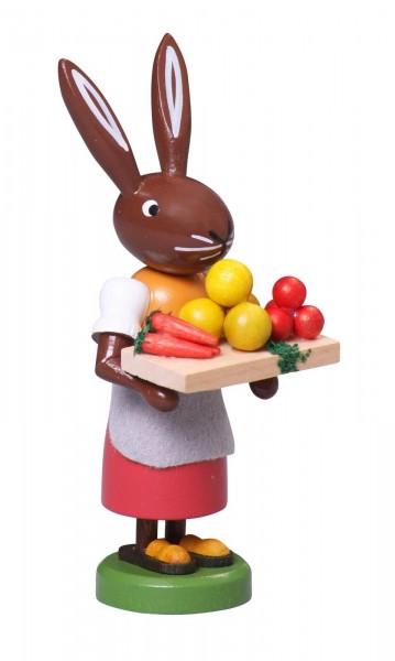 Osterhase Gemüsehändlerin, 9 cm von Thomas Preißler