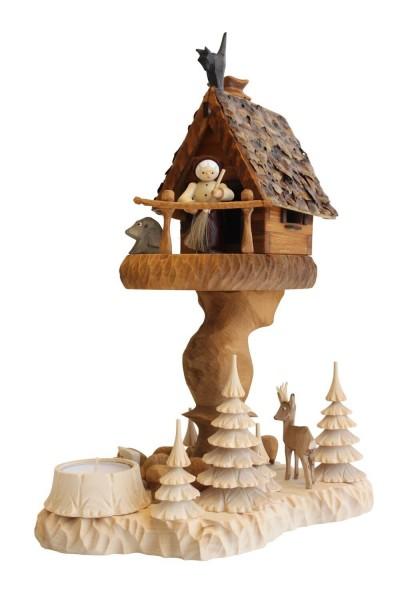 Räucherhaus - Räuchermännchen Hexenhaus mit Teelicht von A. Lahl_Bild2