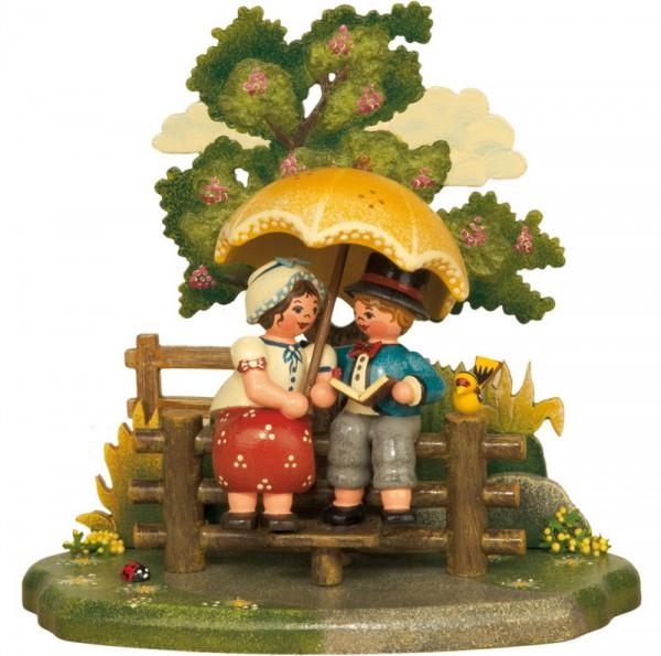 Jahreszeiten - Sommer, 13 x 12 cm, Hubrig Volkskunst GmbH Zschorlau/ Erzgebirge