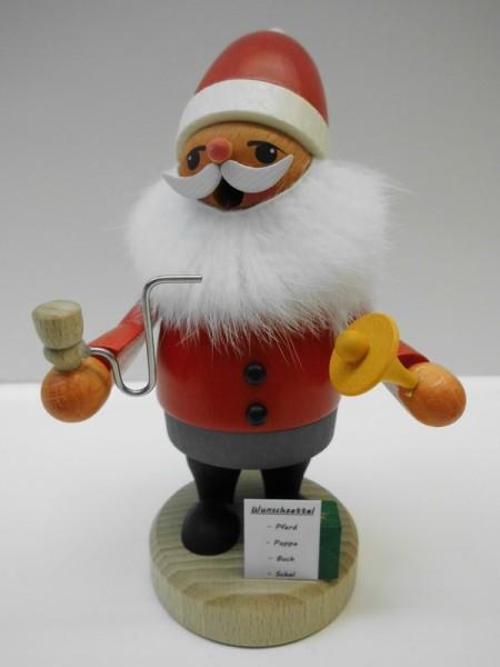Räuchermännchen Weihnachtsmann von Karl Werner Sayda / Erzgebirge HOHOHO. Hier ist der Weihnachtsmann. Dieser lustige Geselle in Zwerg oder Wichteloptik …