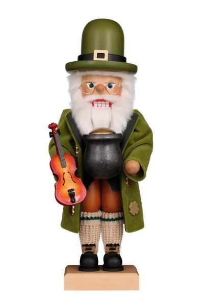 Premium Nussknacker Irish Santa, 50 cm von Christian Ulbricht GmbH & Co KG Seiffen/ Erzgebirge