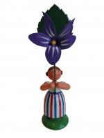 Vorschau: Blumenkind von WEHA-Kunst Mädchen mit Veilchen_Bild1