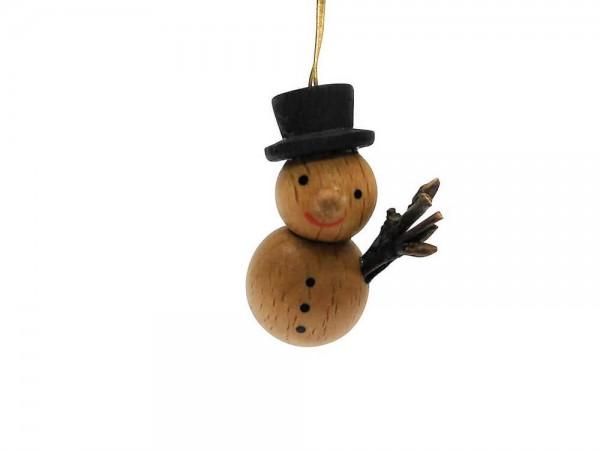 lustiger Schneemann natur von Nestler-Seiffen