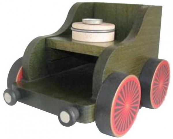 Eisenbahnwagen, grün, für die KWO Eisenbahn - Lokomotive Serie
