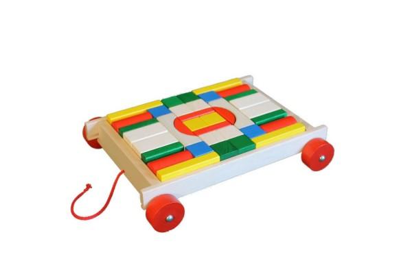 Klassische Bausteine sind schon seit Generationen ein beliebtes Holzspielzeug, das die Phantasie anregt, die Motorik fördert und einfach Spaß macht. Mit …