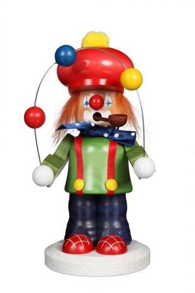 Räuchermännchen von Christian Ulbricht Clown, 20 cm