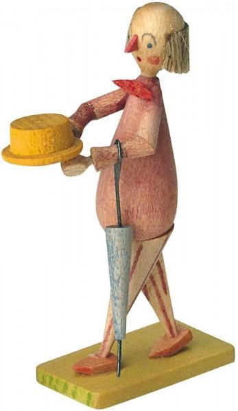 KWO Märchenfigur Spießer aus Holz aus dem Erzgebirge