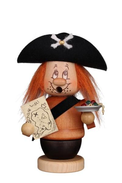 Räuchermännchen von Christian Ulbricht Miniwichtel Pirat, 14 cm aus Holz