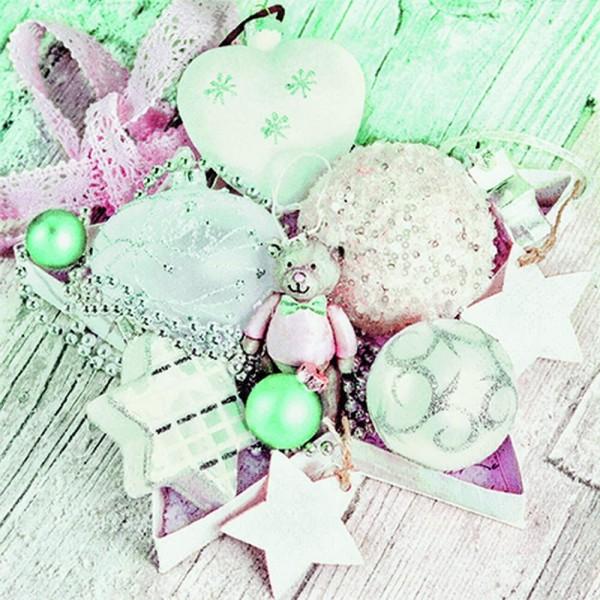 Weihnachtsservietten Christmas Collection von Home Fashion®