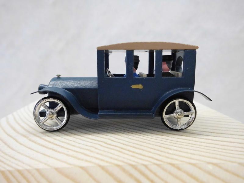 Oldtimer Ford Sedan 1919, 5 cm, Seiffen/ Erzgebirge