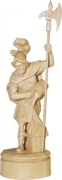 Heiliger Florian, geschnitzt, natur von Schnitzkunst aus dem Erzgebirge_Bild2