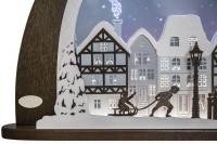 Vorschau: Weigla LED Schwibbogen Winter in der Altstadt, 66 cm_Bild2