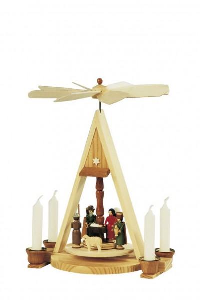 Knuth Neuber, Weihnachtspyramide Heilige Familie