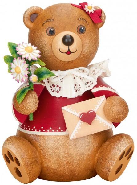 Teddy Herzenssache aus Holz aus der Serie Hubiduu Teddy von Hubrig
