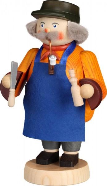 Ein wahrer Künstler ist der Räuchermann Spielzeugmacher, 20 cm von der Seiffener Volkskunst eG. DerRäuchermann, …