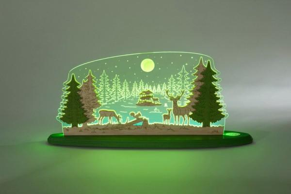 LED Motivleuchte Waldidylle von Weigla
