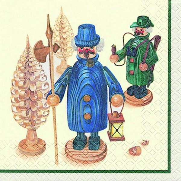 Home Fashion®, Weihnachtsservietten Räuchermann