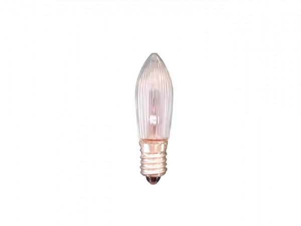 LED Riffelkerzen, 3 Stück, 0,2 Watt / 10 - 55 V