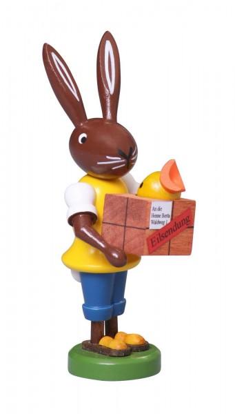 Hase Postbote, 9 cm von Thomas Preißler