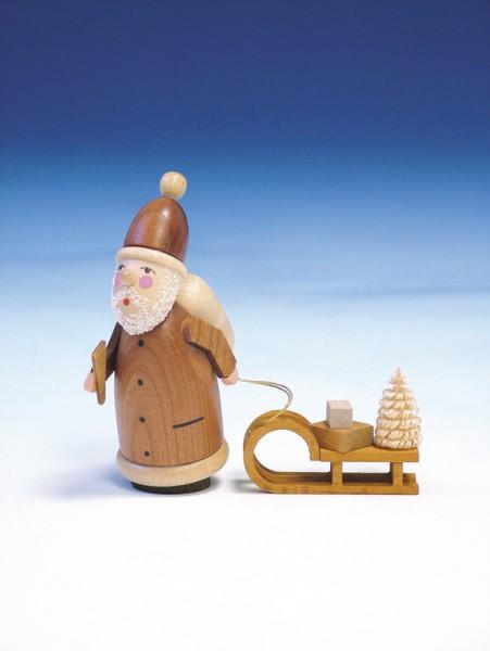Weihnachtsmann, natur, 11 cm, Knuth Neuber Seiffen/ Erzgebirge