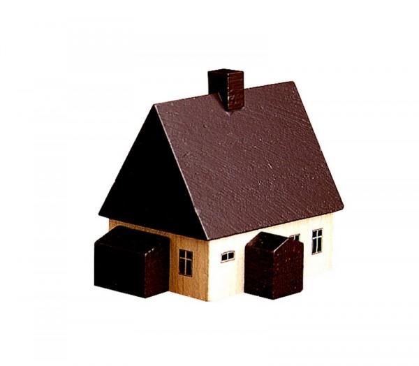 Erzgebirgshauss, 5 cm, Spielwarenmacher Günther Seiffen/ Erzgebirge