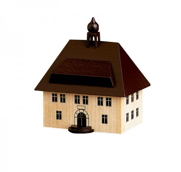 Rathaus in Seiffen, 7,5 cm, Spielwarenmacher Günther Seiffen/ Erzgebirge