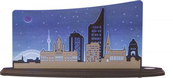Weigla LED Motivleuchte Leipzig Panorama