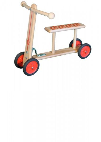 Lernlaufrad /Rutscher, 50 x 42 x 32 cm, 2 kg, geeignet für Kinder ab 12 Monaten, Erzgebirgische Holzspielwaren Ebert GmbH Olbernhau/ Erzgebirge