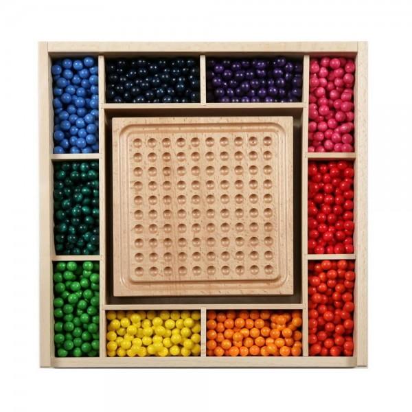 Ganz viel Kreativität und Phantasie ist gefragt, bei dem Kindergarten Mini-Kugelspiel von SINA Spielzeug Neuhausen/Erzgebirge. Super geeignet für …