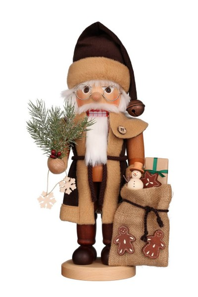Nussknacker Weihnachtsmann, natur, 40 cm, Christian Ulbricht GmbH & Co KG Seiffen/ Erzgebirge