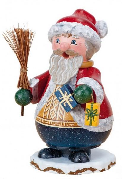 Räuchermänn Wichtel - Weihnachtsmann von Hubrig Volkskunst GmbH Zschorlau/ Erzgebirge ist 14 cm groß.
