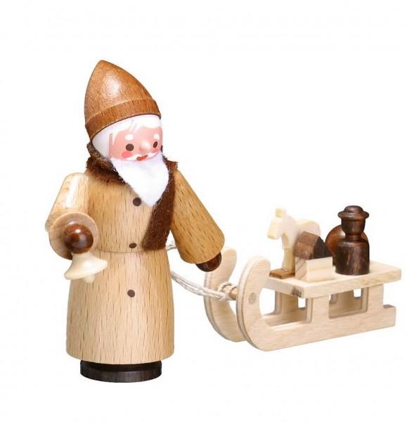 Der Nikolaus mit Schlitten in natur von Romy Thiel Deutschneudorf/ Erzgebirge, ist eine tolle Dekofigur. Holen Sie sich ein sehr alte Tratition nach Hause, …