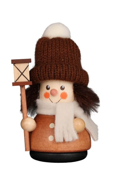 Wackelmännchen Weihnachtsmann Laternenbub in natur von Christian Ulbricht GmbH & Co KG Seiffen/ Erzgebirge ist 10 cm groß. Stolz präsentiert uns der …