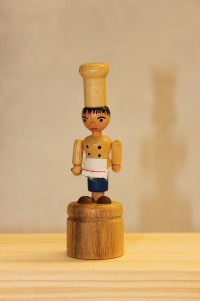 Wackelfigur Koch von Nestler-Seiffen