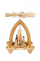 Vorschau: Weihnachtspyramide Christi Geburt, 26 cm hergestellt von Heinz Lorenz_Bild1