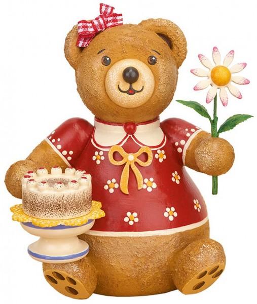 Hubiduu Teddy von Hubrig Volkskunst Zuckerbärli