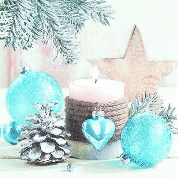Weihnachtsservietten Winter Romance von Home Fashion®