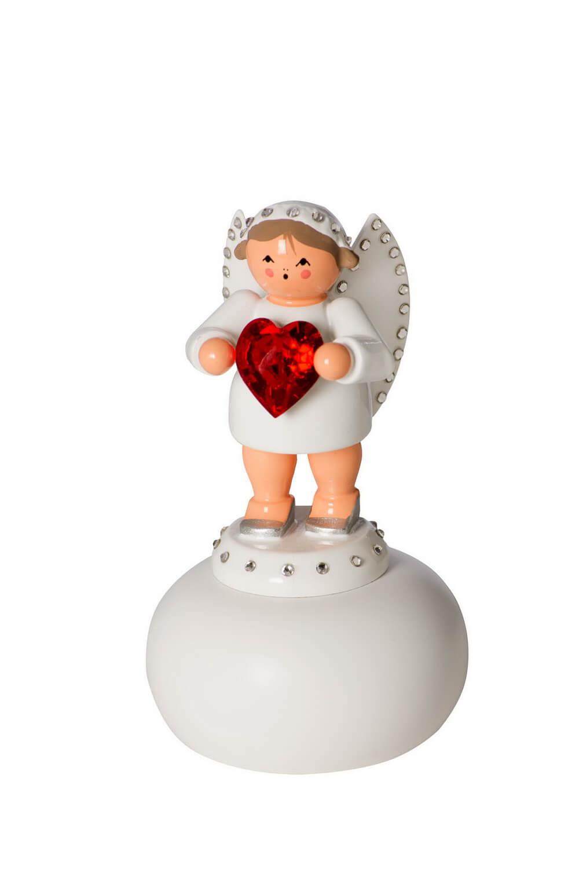 KWO Engel als Liebesbote mit rotem Swarovski Herz_Bild1