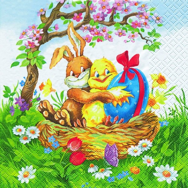 Osterservietten Easter Friends von Home Fashion®