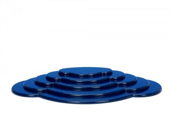 Wolke für Weihnachtsengel, blau, 5 - teilig, 53 cm von Christian Ulbricht GmbH & Co KG Seiffen/ Erzgebirge