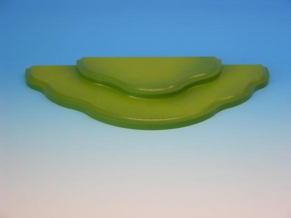 Wiesenstecksystem, Grundwiese 2-stufig für Stecksystem, grün, 32,5 x 16,0 x 2,4 cm, Frieder & André Uhlig Seiffen/ Erzgebirge